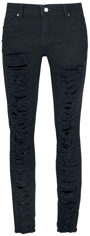 Image of   Fashion Victim Destroyed Jeans Girlie bukser sort