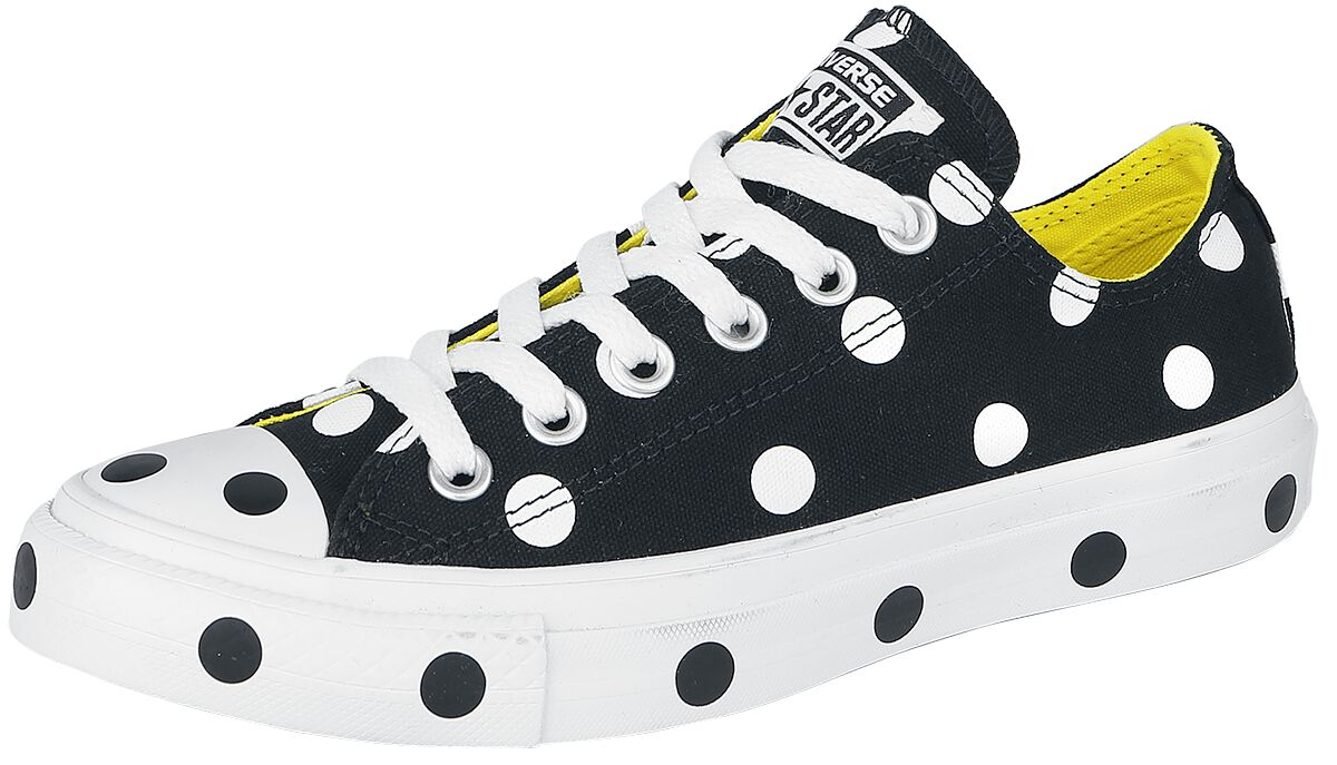 Image of   Converse Chuck Taylor All Star - OX Sneakers sort-hvid