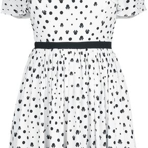 Mickey & Minnie Mouse Ombre Robe blanc/noir