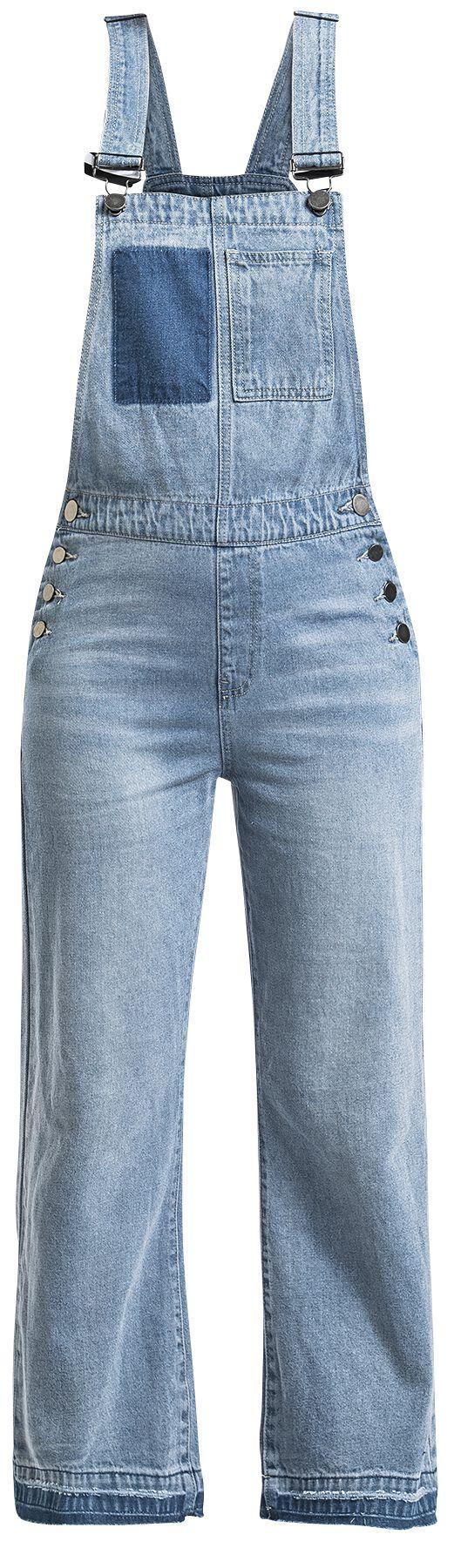 Image of   Fashion Victim Latzhose Girlie dungarees blå