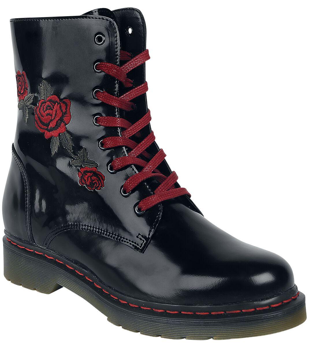 Marki - Buty - Buty Curious Rose Boot Buty czarny - 370100
