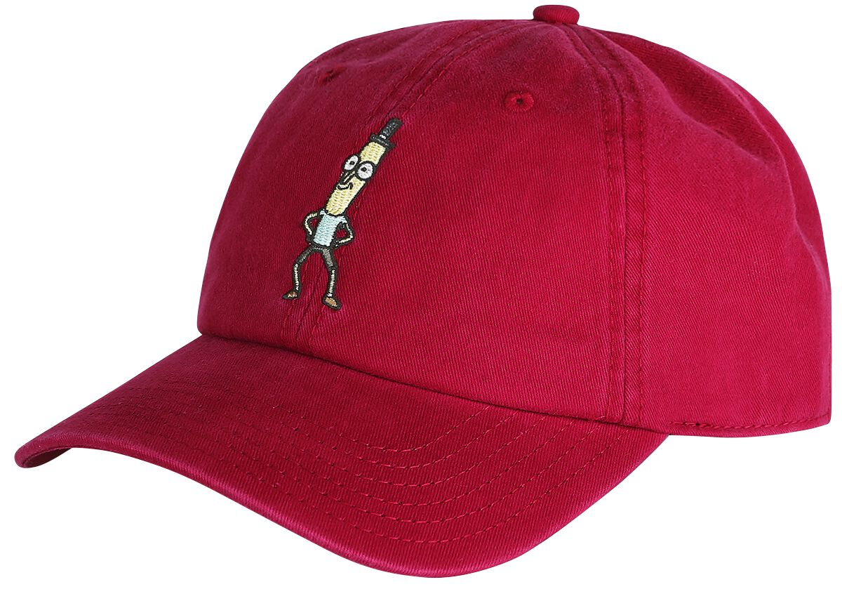 Image of   Rick And Morty Mr. Poopy Baseball Cap rød