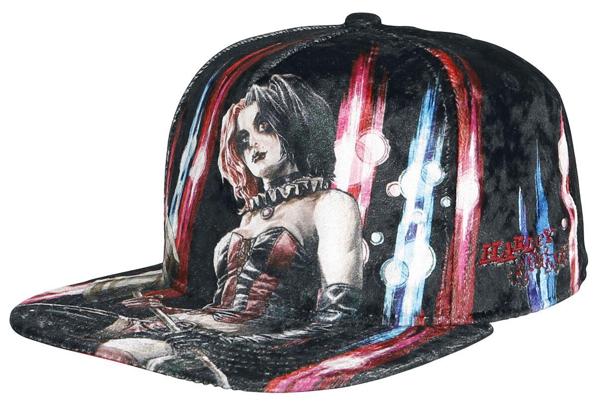 Merch dla Fanów - Czapki i Kapelusze - Czapka Snapback Harley Quinn Harley Quinn Czapka Snapback wielokolorowy - 370143