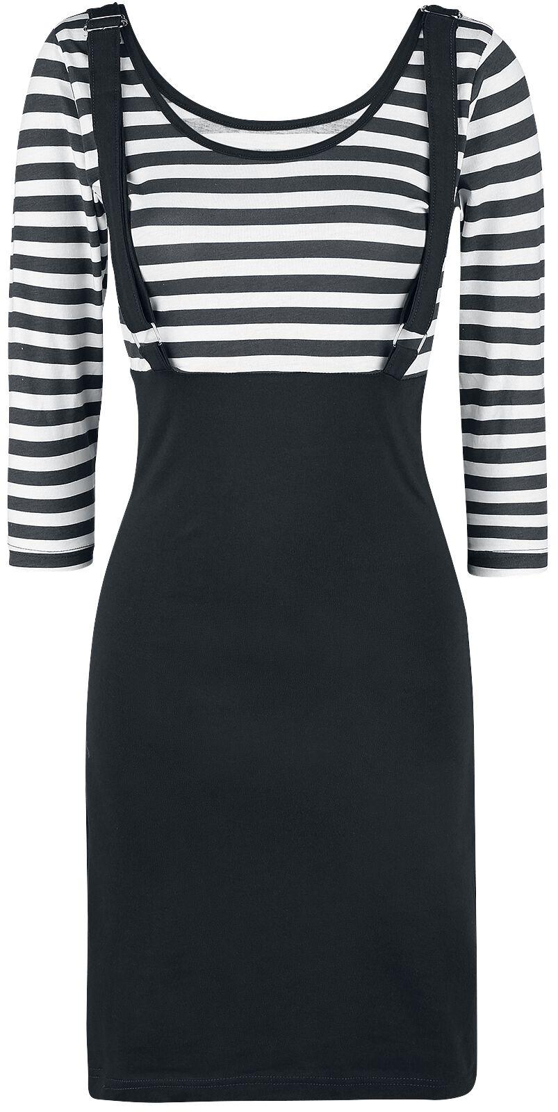 Marki - Sukienki - Sukienka Rockabella Compass Dress Sukienka czarny/biały - 370180