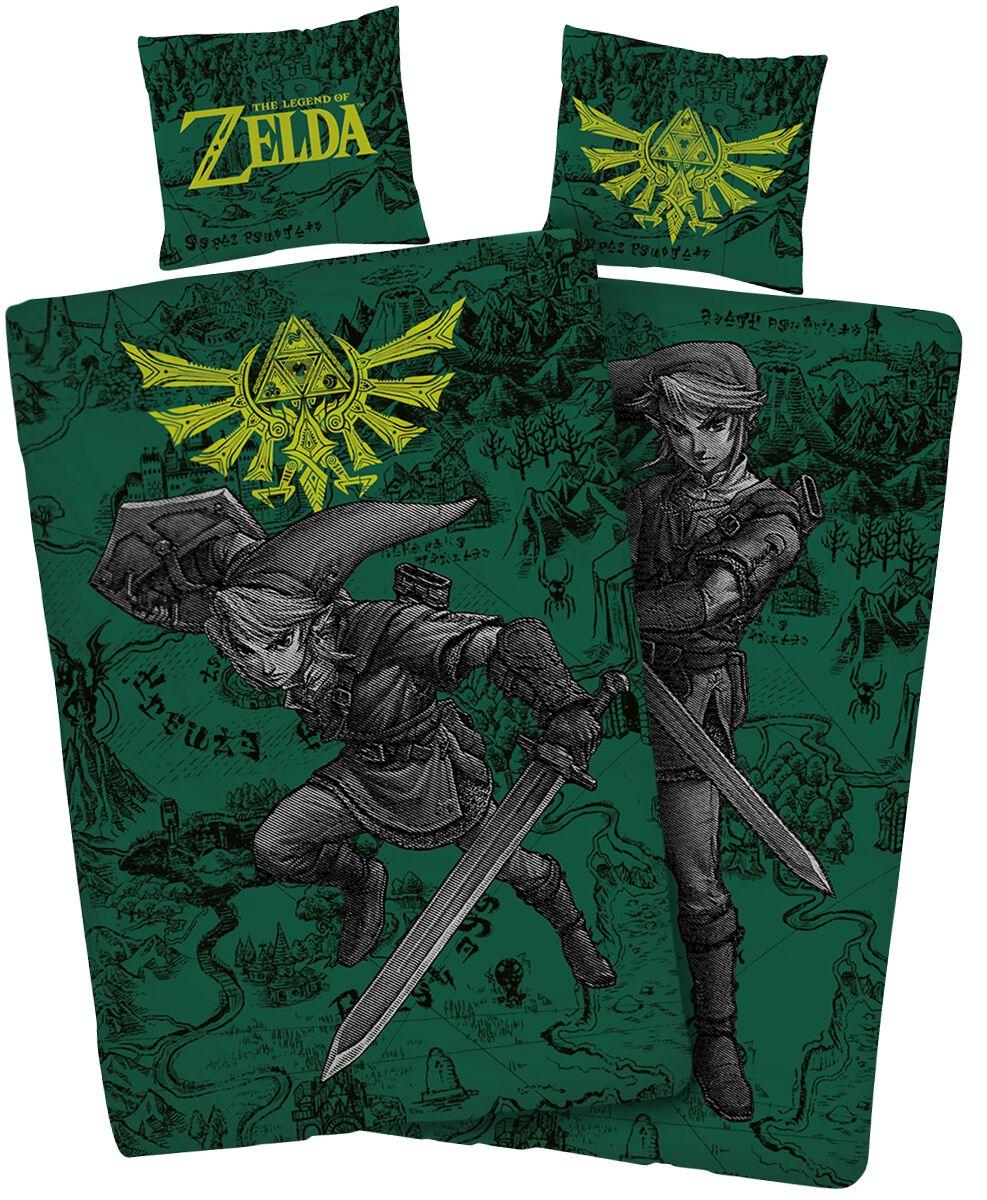 Image of   The Legend Of Zelda Fight Sengesæt multifarvet