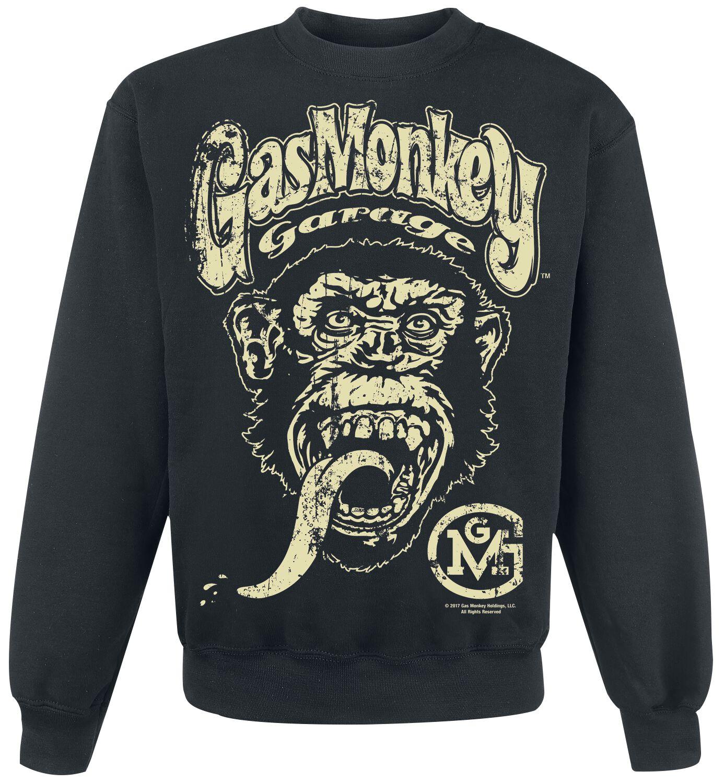 Merch dla Fanów - Bluzy - Bluza Gas Monkey Garage Big Brand Logo Bluza czarny - 370210