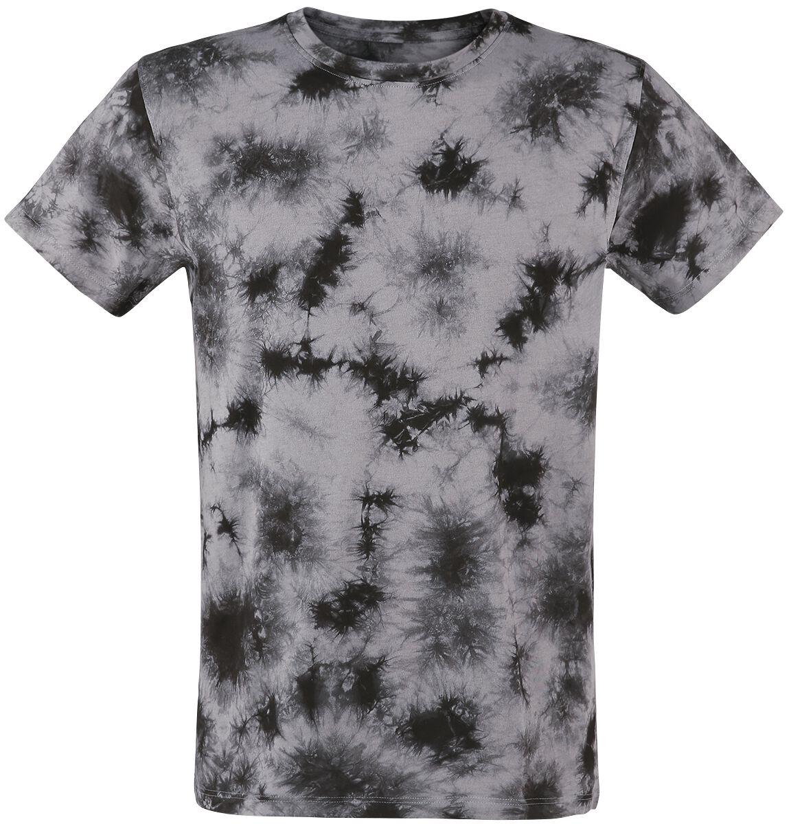 Image of   Urban Classics Batik Tee T-Shirt grå-sort