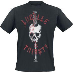 The Walking Dead Thirsty Lucille T-shirt noir