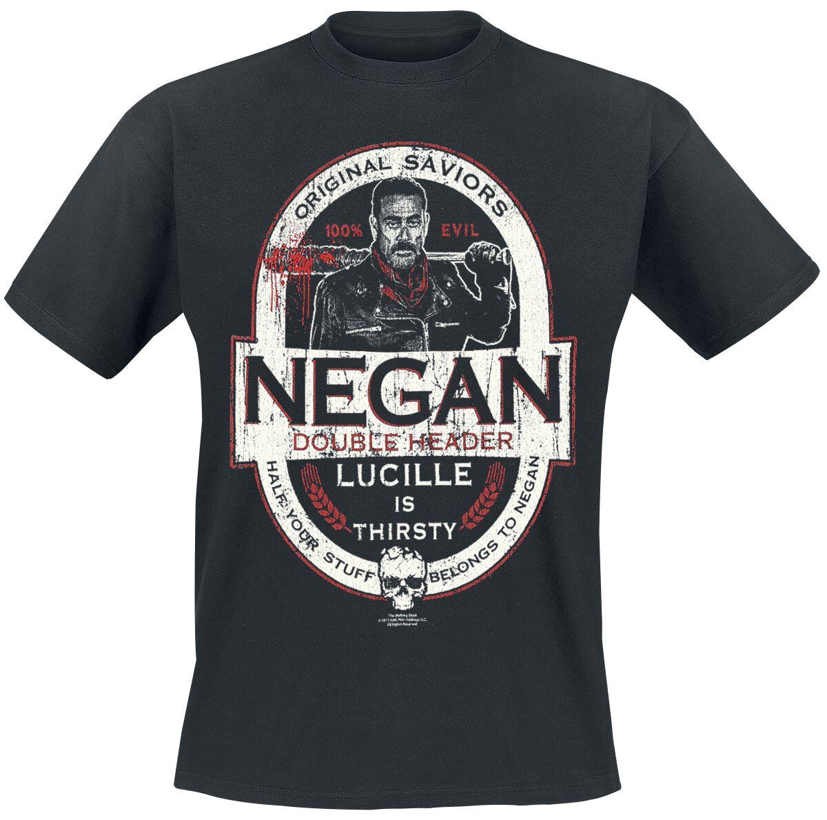 Image of   The Walking Dead Negan - Double Header T-Shirt sort