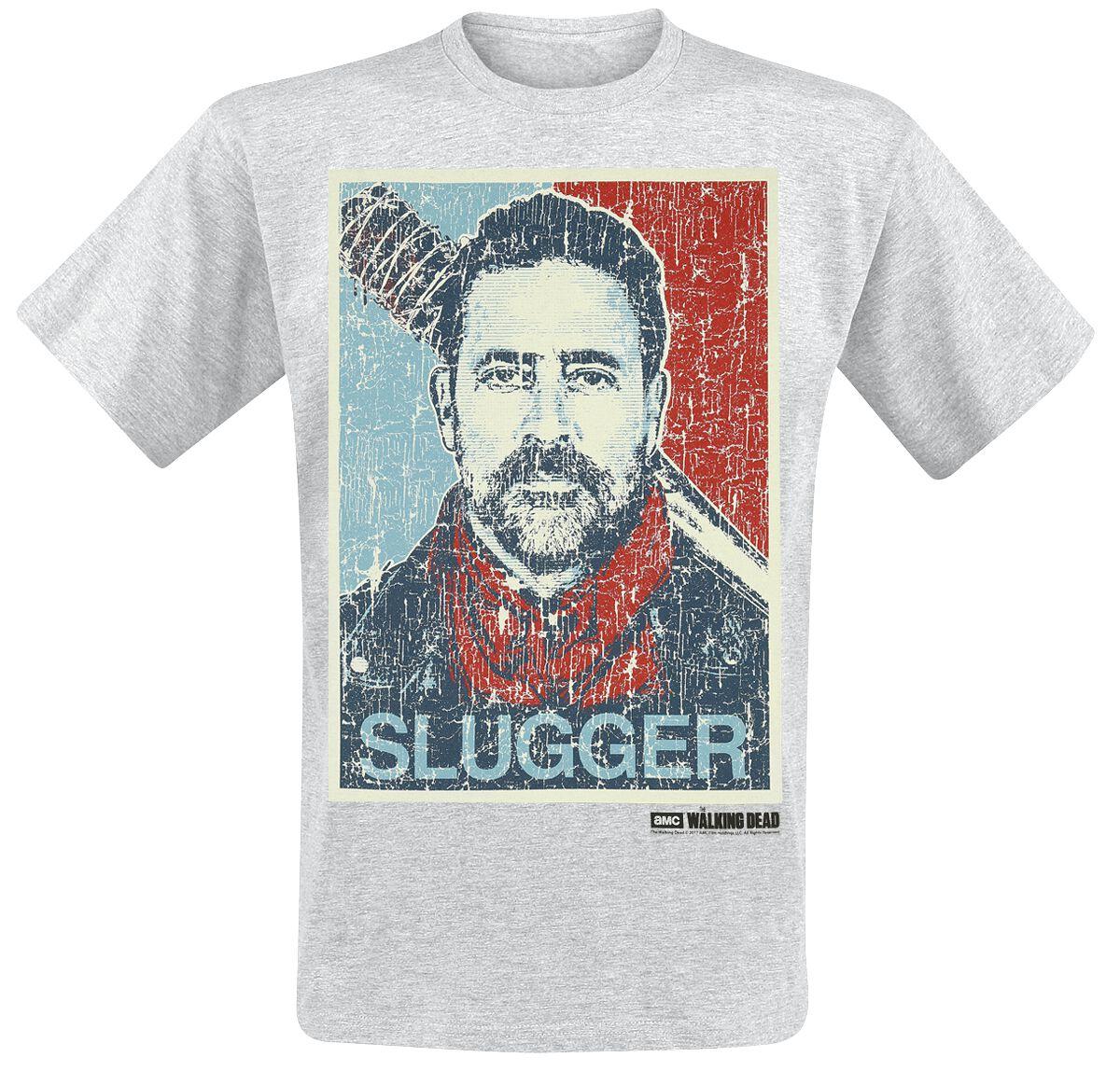 Image of   The Walking Dead Negan - Slugger T-Shirt grålig