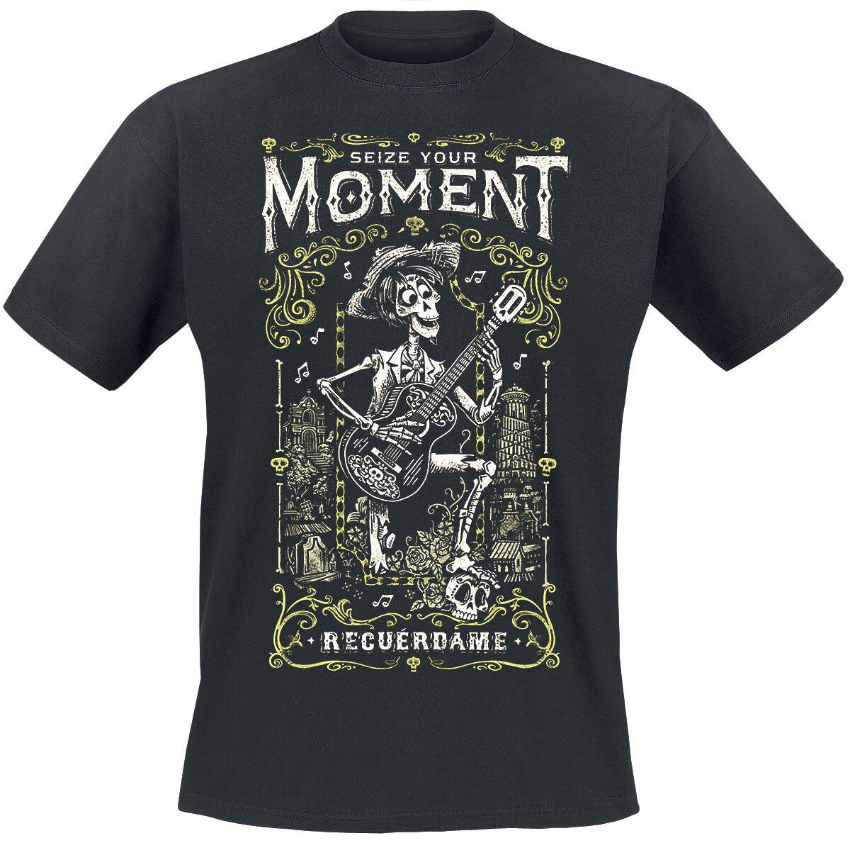 Merch dla Fanów - Koszulki - T-Shirt Coco Recuerdame T-Shirt czarny - 370287