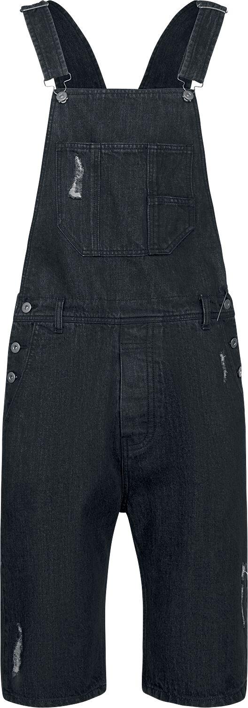Image of   Urban Classics Denim Short Dungaree Shorts sort
