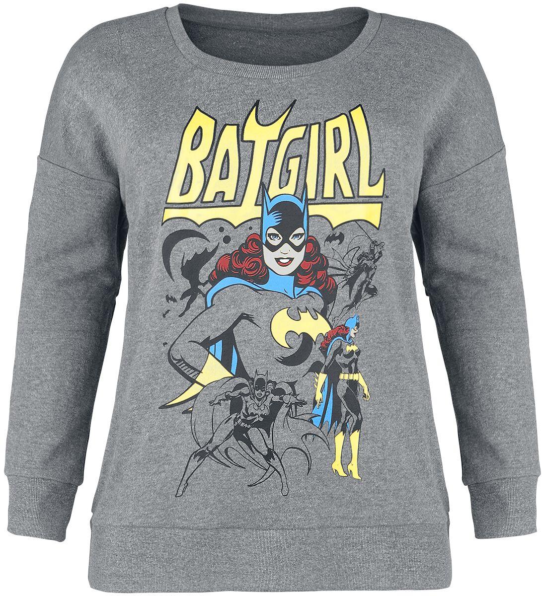 Merch dla Fanów - Bluzy - Bluza damska Batman Batgirl Bluza damska odcienie szarego - 370362