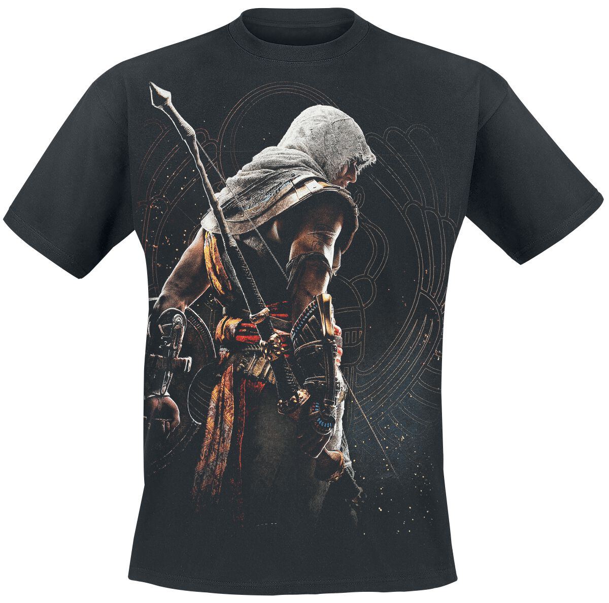 Image of   Assassin's Creed Origins - Bayek T-Shirt sort