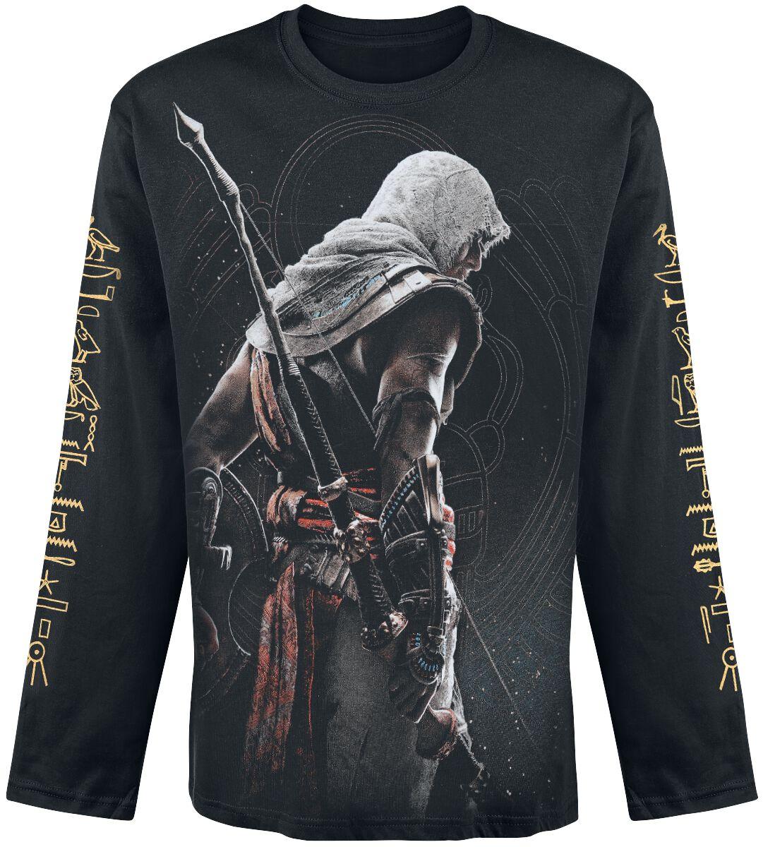 Image of   Assassin's Creed Origins - Bayek Langærmet sort