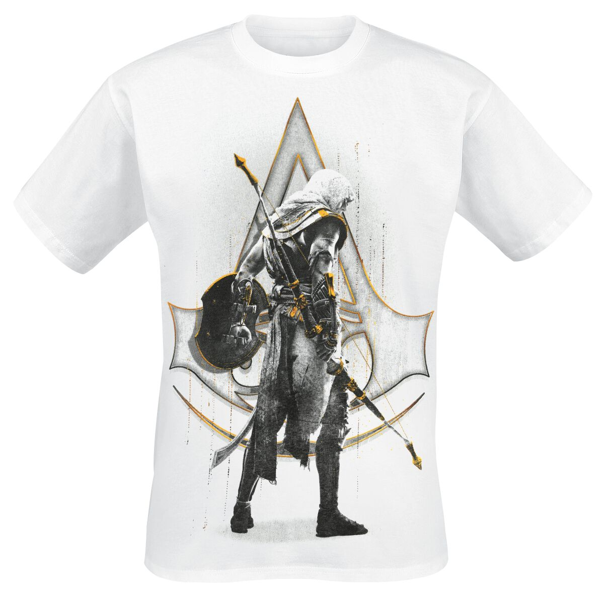Image of   Assassin's Creed Origins - Bayek T-Shirt hvid