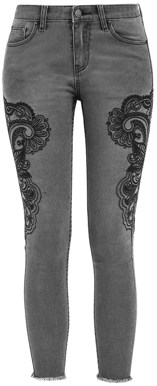 Image of   Fashion Victim Mandala Jeans Girlie bukser grå