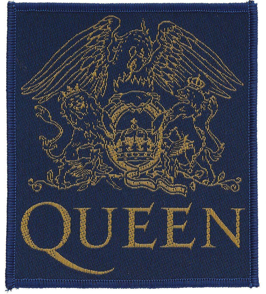 Image of   Queen Crest Patch multifarvet