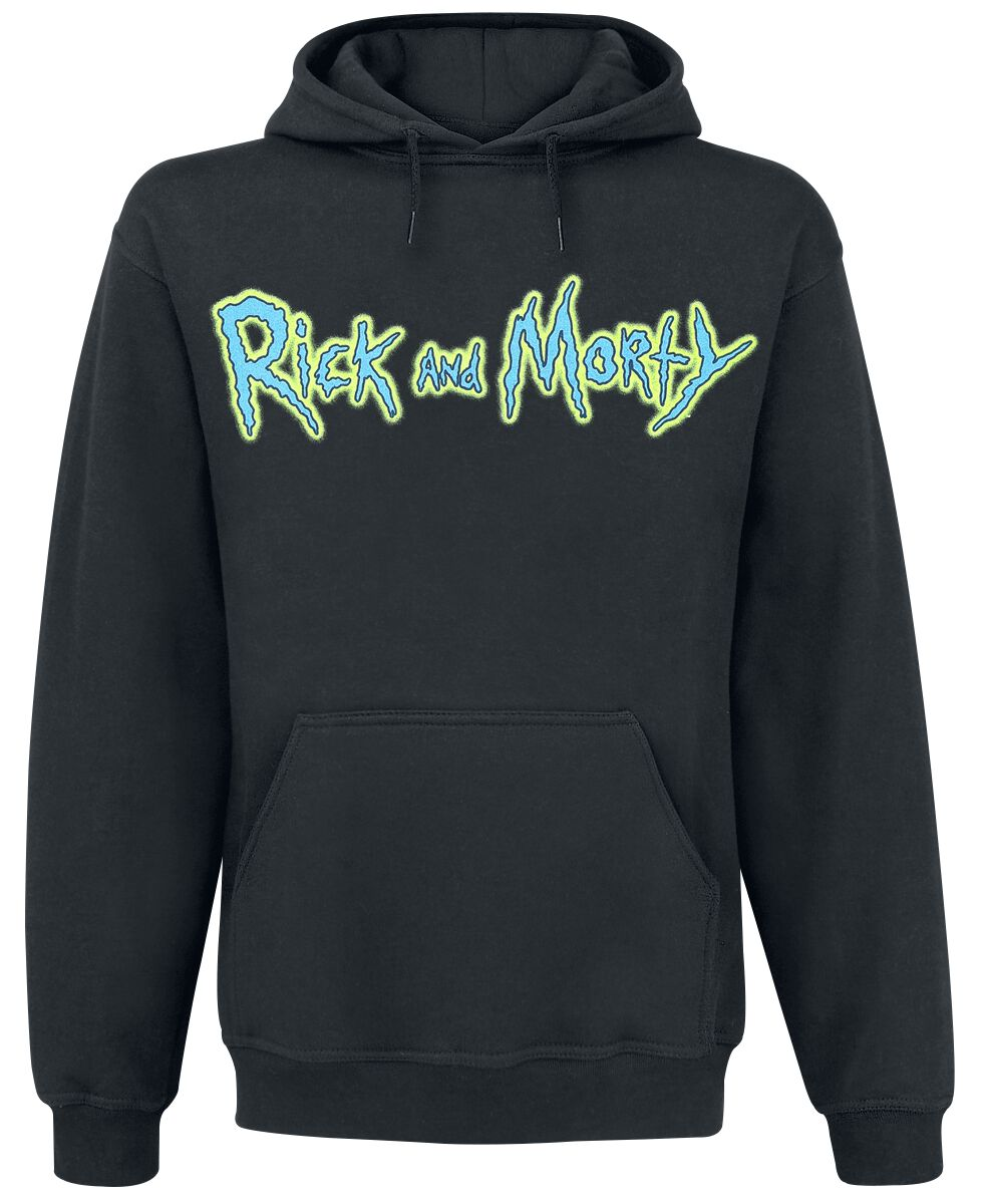 Image of   Rick And Morty Riggity Riggity Wrecked Hættetrøje sort