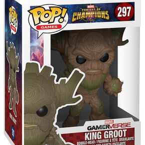 Figurine Pop! King Groot - Marvel Contest of Champions