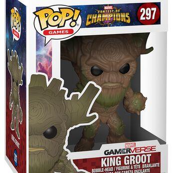 Figurine Pop! King Groot - Marvel Contest of Champions