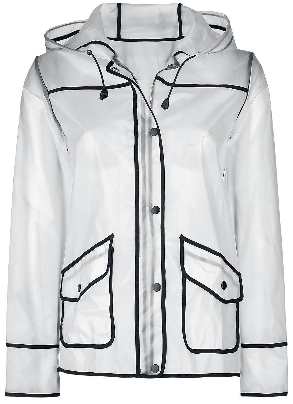 Image of   Fashion Victim Klar regnjakke Regnjakke hvid