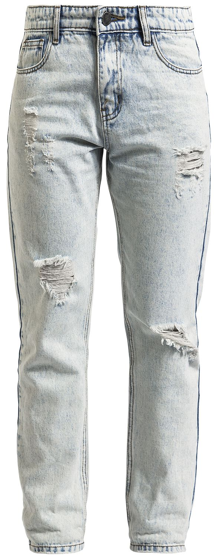 Image of   Fashion Victim Boyfriend Jeans Girlie jeans lys blå