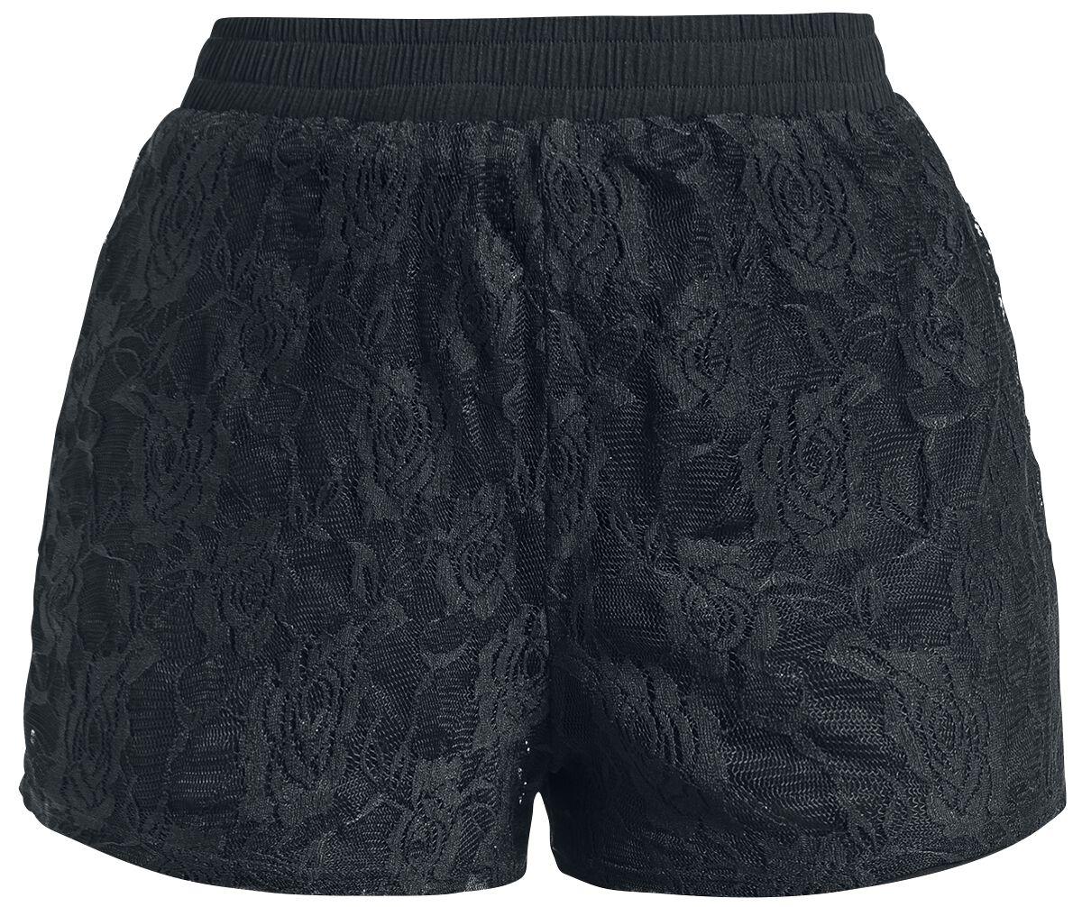 Image of   Fashion Victim Spitzen Shorts Girlie shorts sort