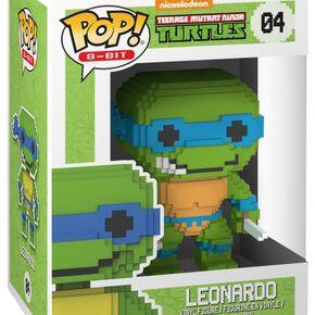 Figurine Pop! Leonardo - 8 Bit Teenage Mutant Ninja Turtles