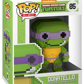 Figurine Pop! Donatello - 8 Bit Teenage Mutant Ninja Turtles