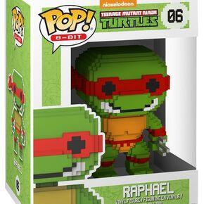 Figurine Pop! Raphaël - 8 Bit Teenage Mutant Ninja Turtles