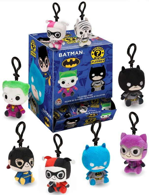 Image of   Batman Mystery Mini Blind Plush Nøglering Standard