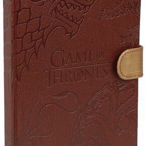 Game Of Thrones Grandes Maisons Cahier marron
