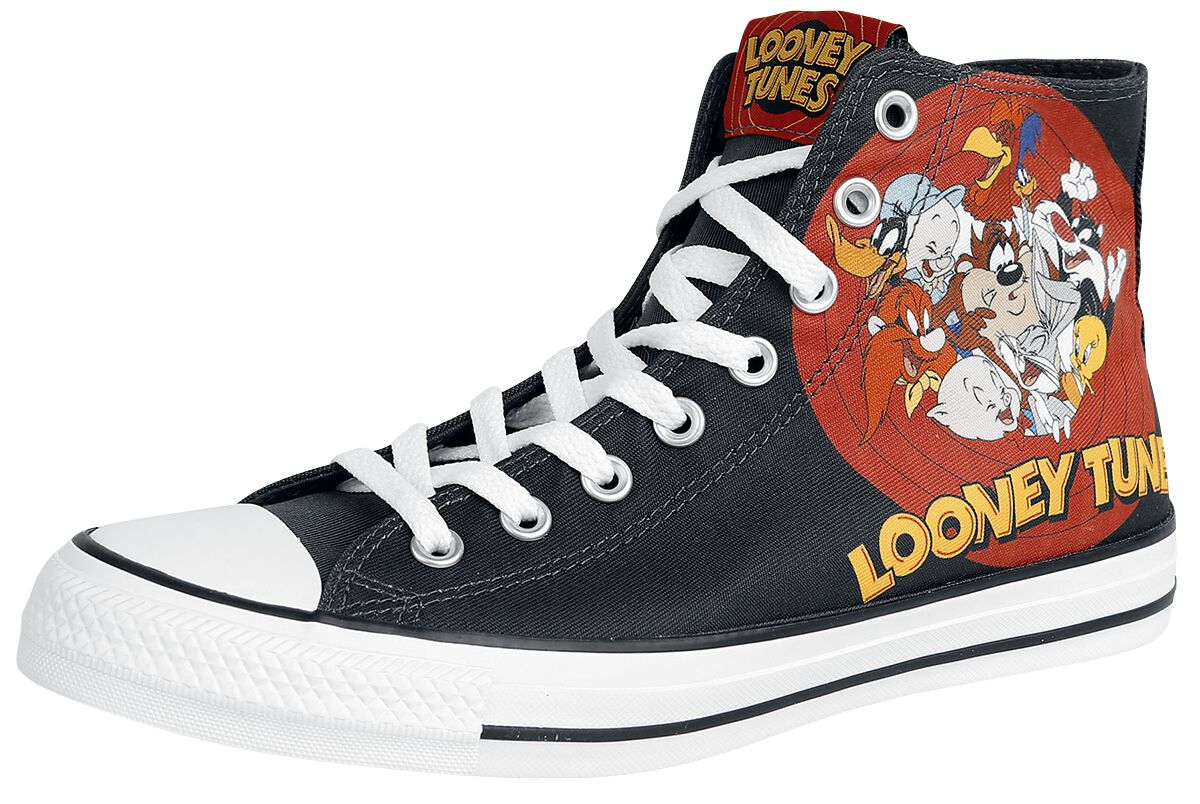 Image of   Converse Looney Tunes - Multi-Character Record Logo Sneakers sort