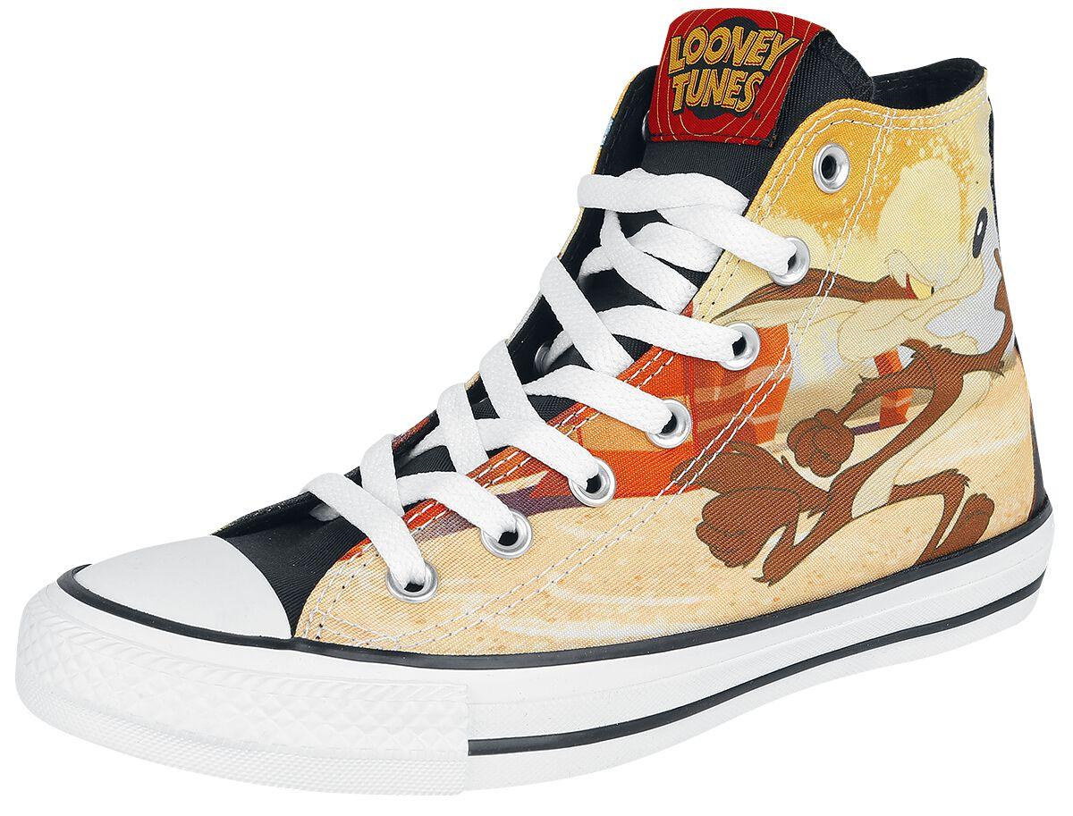 Image of   Converse Looney Tunes - Wile E. Coyote & Road Runner Sneakers multifarvet