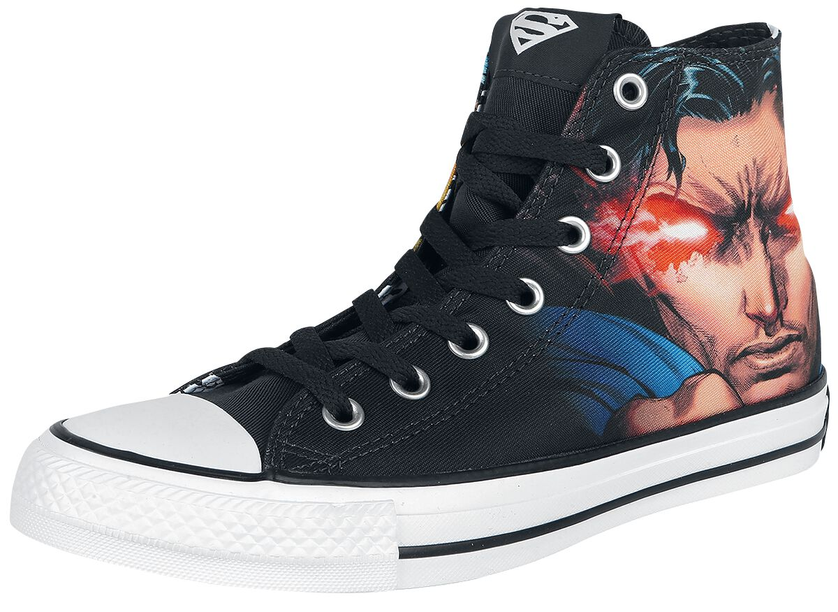 Image of   Converse DC Rebirth - Superman Sneakers sort