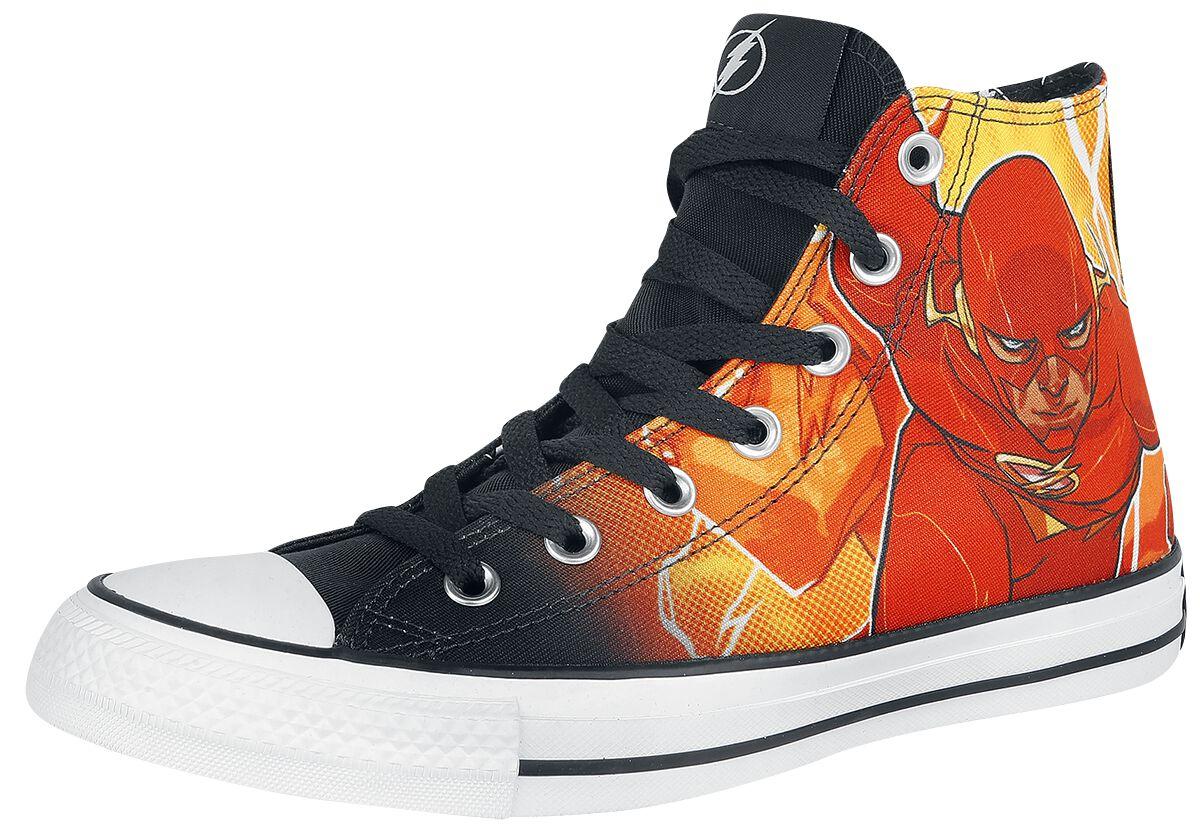 Image of   Converse DC Rebirth - Flash Sneakers rød-sort