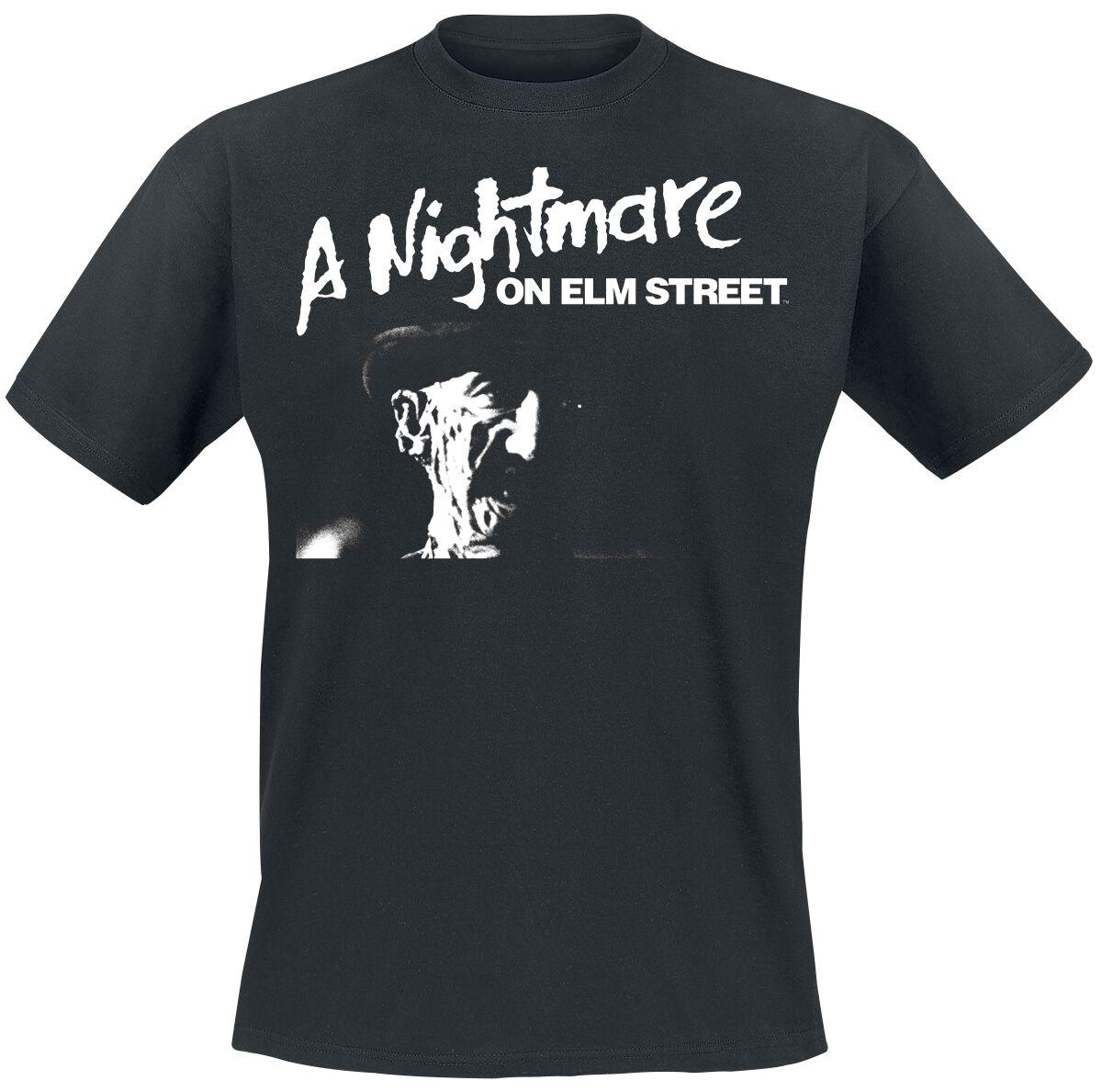 Merch dla Fanów - Koszulki - T-Shirt Koszmar z ulicy Wiązów Freddy Krueger T-Shirt czarny - 370662