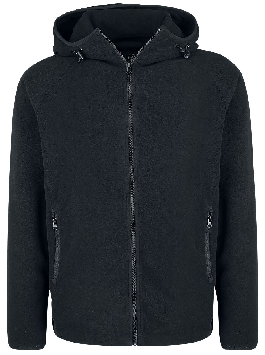 Image of   Brandit Capel Valey Fleece Zip Hoodie Hættejakke sort