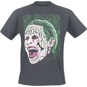Suicide Squad The Clown Prince Of Crime T-shirt gris