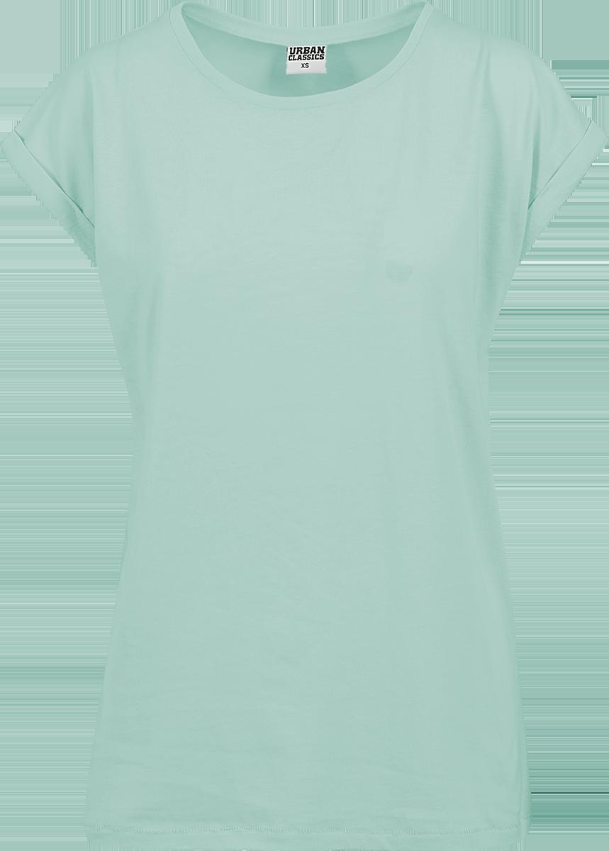 Urban Classics - Ladies Extended Shoulder Tee - Girls shirt - mint image