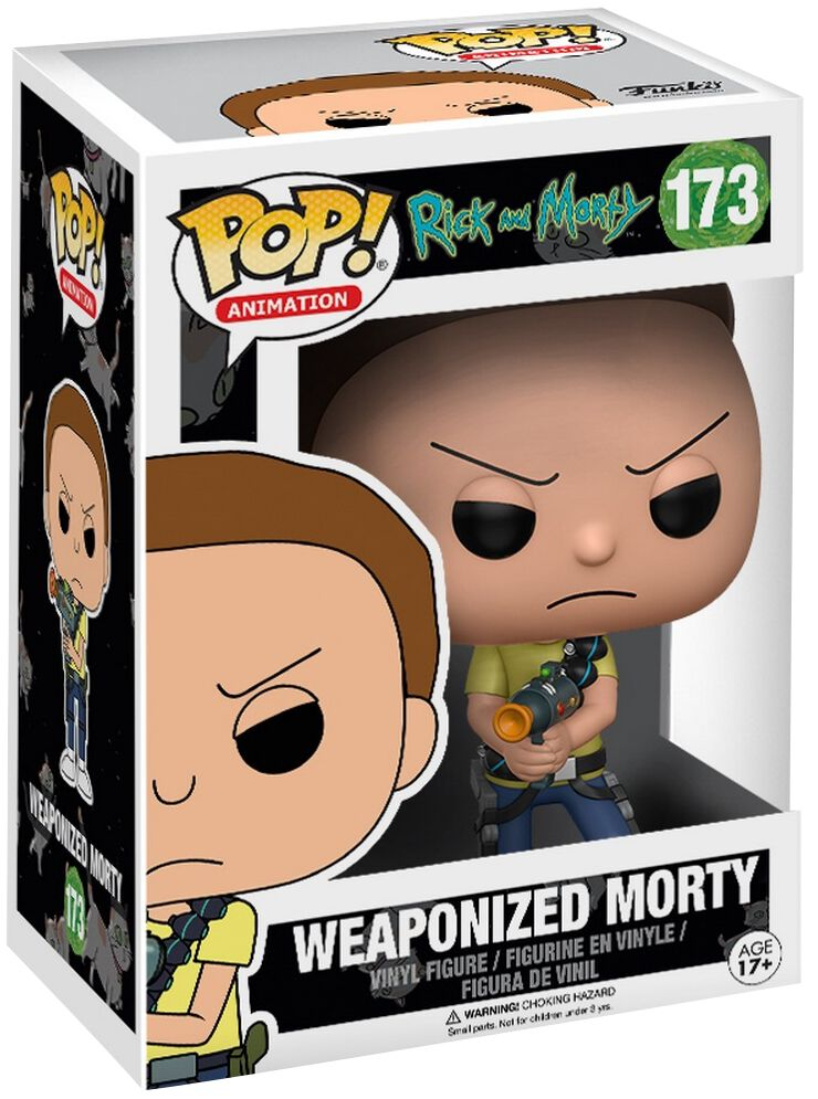 Image of   Rick And Morty Weaponized Morty Vinyl Figure 173 Samlefigur Standard