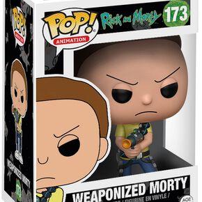 Figurine Pop! Morty Armé Rick et Morty