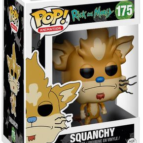 Figurine Pop! Squanchy Rick et Morty