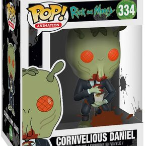 Figurine Pop! Cornvelious Daniel Rick et Morty
