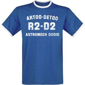 Star Wars R2-D2 Astromech Droid T-shirt bleu/blanc