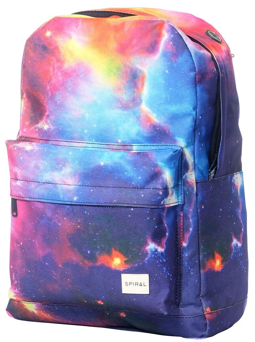 Marki - Torby i Plecaki - Plecak Spiral UK Cosmic Galaxy Plecak wielokolorowy - 370922