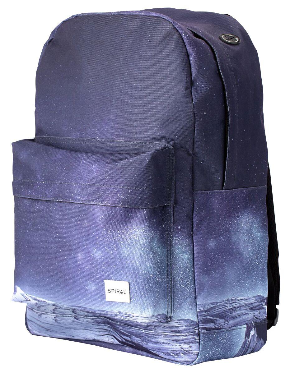 Marki - Torby i Plecaki - Plecak Spiral UK Space Mountain Plecak niebieski - 370923