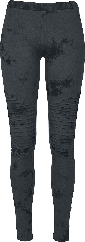Image of   Urban Classics Ladies Biker Batik Leggings Leggings mørk blå-sort