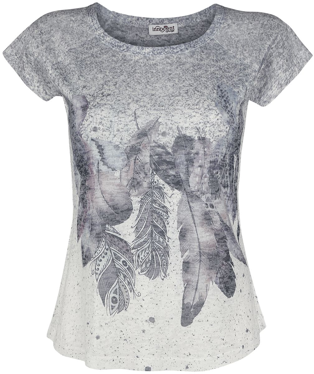 Image of   Innocent Feather Drop T Girlie trøje multifarvet